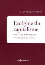 ellen wood origine capitalisme